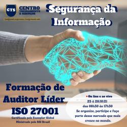 Formação de Auditor Líder ISO 27001:2013